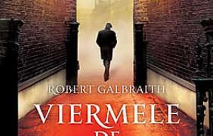 """""""Viermele de matase"""" de Robert Galbraith (J.K. Rowling) [Editura Trei, 2014]"""