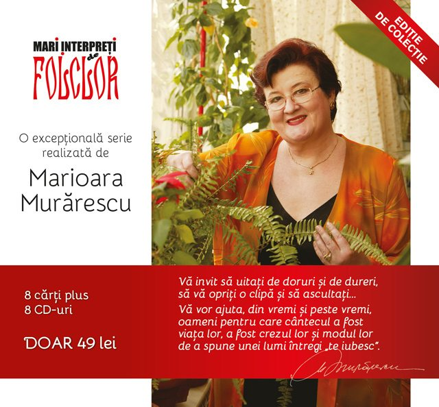 Colectia-Mari-Interpreti-de-Folclor-Marioara-Murarescu