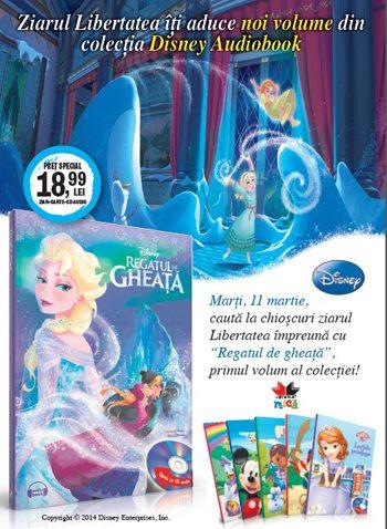 Disney Audiobook - Regatul de gheata