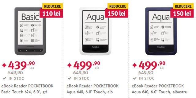eBook Readere-le PocketBook sunt renumite si apreciate de cei care au devenit fanii eBook-urilor
