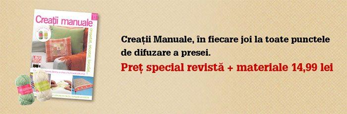 creatii manuale