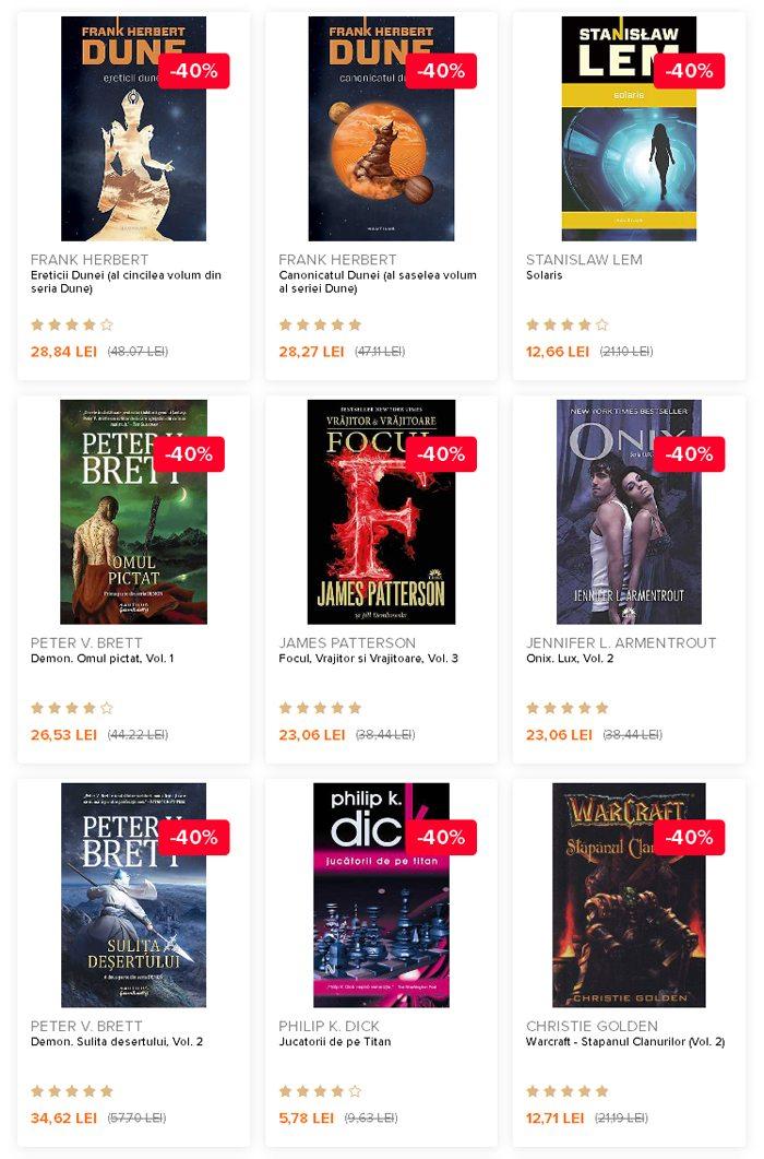 Cărți SF și Fantasy