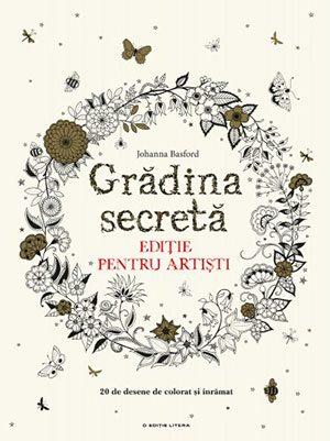 grădina secretă ediție pentru artiști