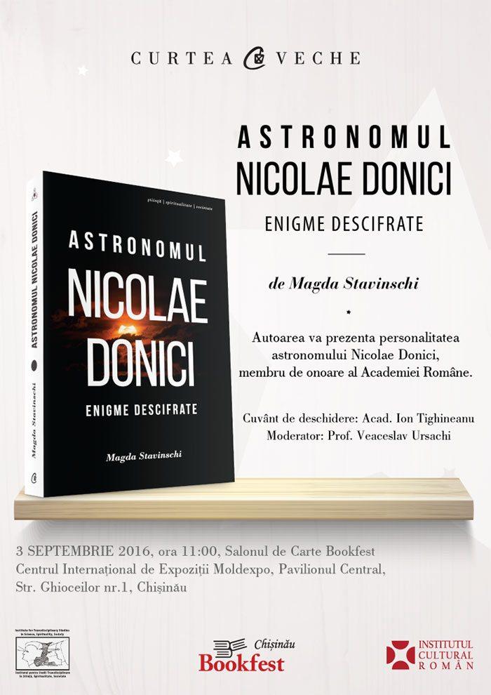 Astronomul Nicolae Donici. Enigme descifrate