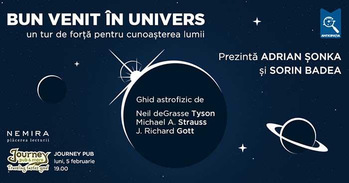 Bun venit în univers