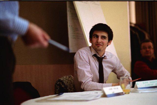 Foto: la 22 de ani, asistent director, Lafarge Ciment România