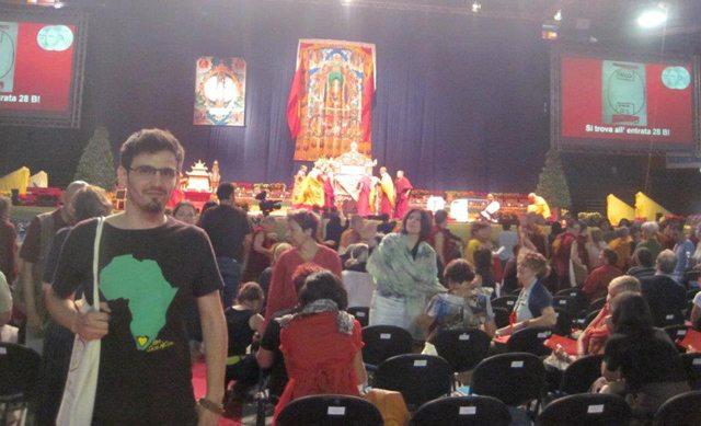 Foto: Întâlnire cu Dalai Lama, Milano