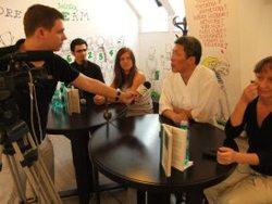 Foto : Lansare de carte Sundao cu Maestrul Jae-Sheen Yu, Librăria Bastilia.