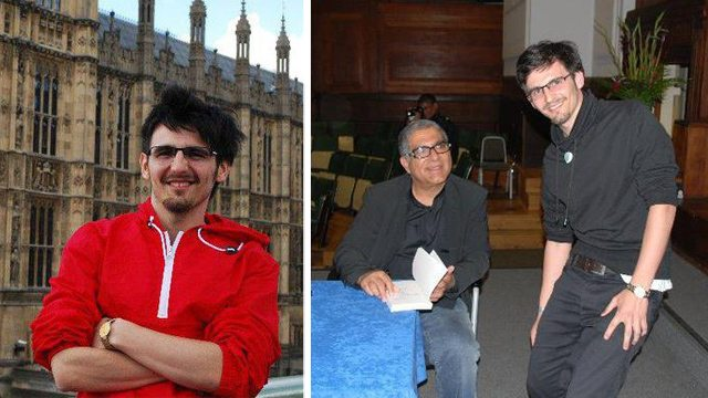 Foto: Londra 2010, Întâlnire cu Deepak Chopra
